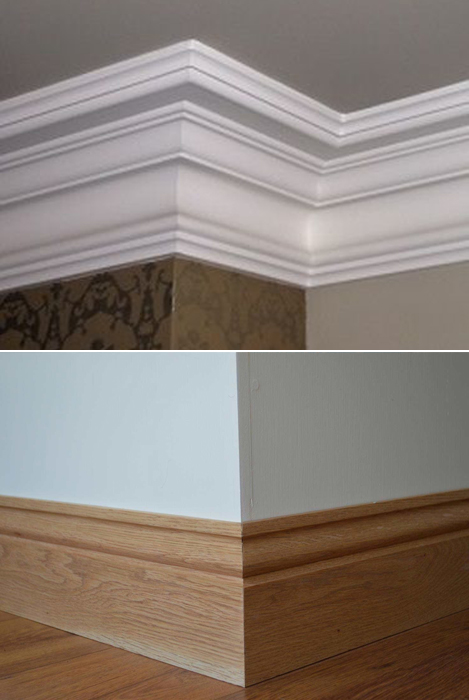 Coving and Skirting boards supplied by Bradnam's in Haverhill